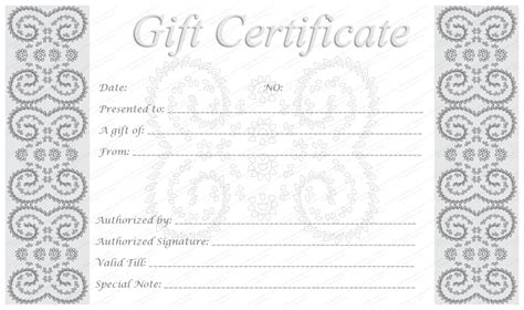 make your own certificate template make your own free printable silver award certificate template