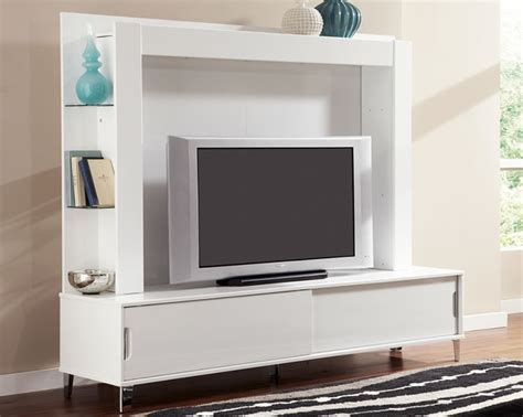 80 Inch Tv Stand by White 80 Inch Tv Stand With Back Panel And Shelves Live