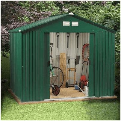 Billyoh Sheds Review by The Billyoh Beeston Premium Metal Shed What Shed