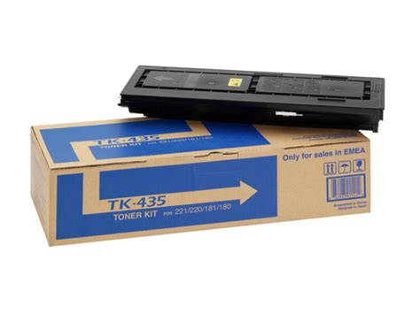 Toner Kyocera Taskalfa 180 by Kyocera Tk435 Toner Cartridge
