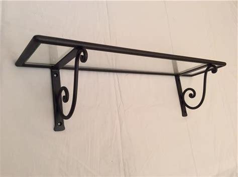 mensole ferro battuto mensola rettangolare in ferro battuto lavorato a mano