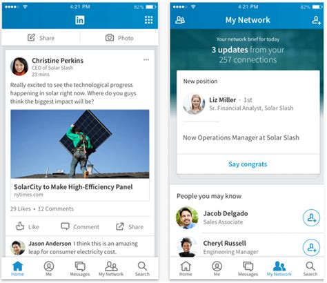 linked in mobile linkedin mobile what marketers need to social