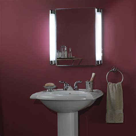 bathroom medicine cabinets with led lights bathroom recessed medicine cabinets with lights medicine