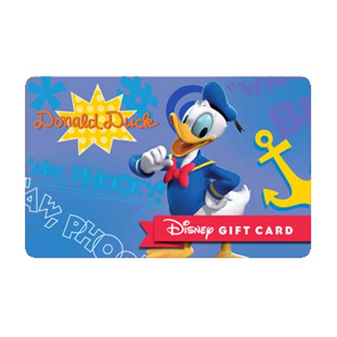 Gift Cards Fab - your wdw store disney collectible gift card fab 6 donald
