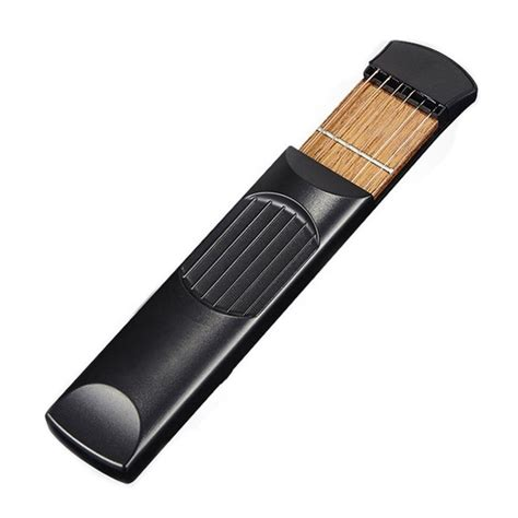 Tools 3in1fingerboard Tools pocket acoustic guitar practice tool 6 string fingerboard 4 fret chord trainer portable gadget