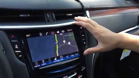 active cabin noise suppression 2006 cadillac cts navigation system 2015 cadillac xts navigation interface cadillac navigation upgrade cue navi sintegrate youtube