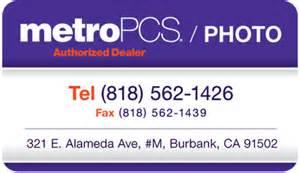 business cards burbank metropcs showcase print collateral business card eiffel media