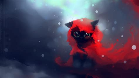 cat wallpaper deviantart little red yin 1920 x 1080 hdtv 1080p wallpaper