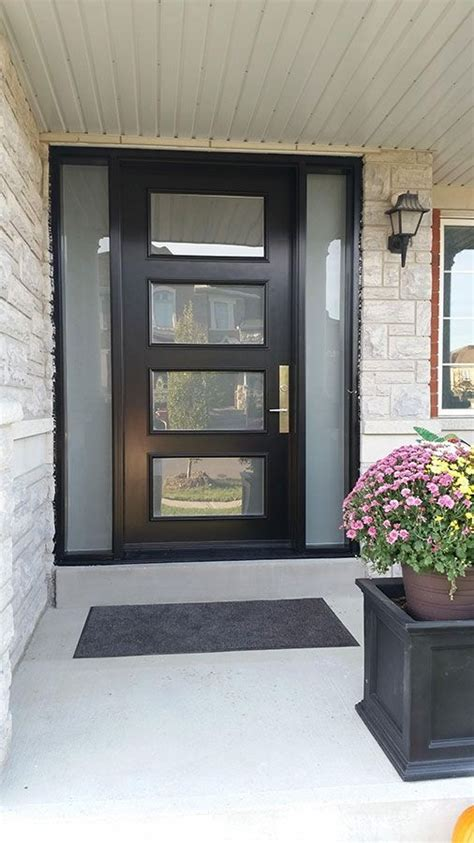 door lites exterior doors best 25 modern exterior doors ideas on modern