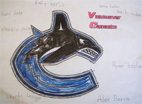 pin vancouver canucks colouring pages on pinterest