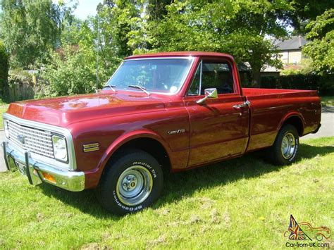 chevrolet c10 short bed pickup truck 1971