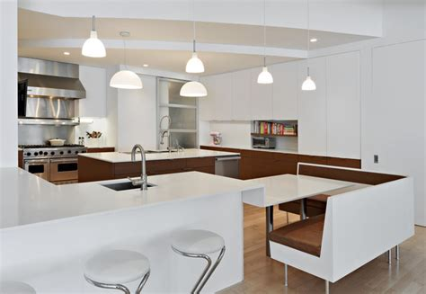 Center Island Kitchen Designs tribeca loft moderne cuisine new york par nc2