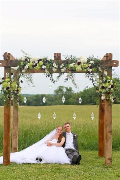 Best 25  Wood wedding arches ideas on Pinterest   Wedding
