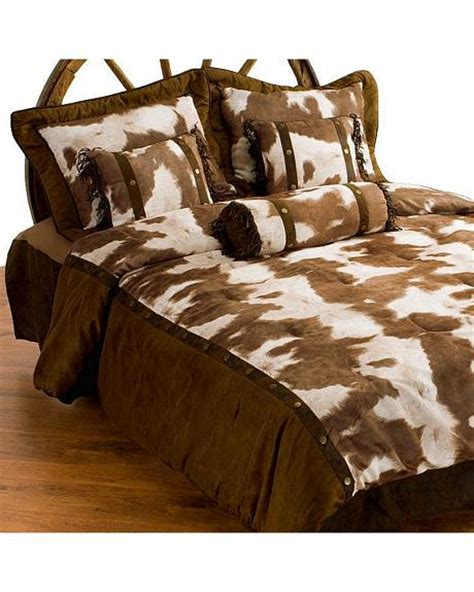 queen size bed in a bag western cow print bed in a bag queen size sheplers