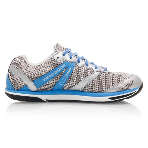 altra womens running shoes altra the intuition womens running shoes silver blue