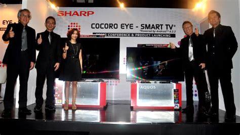 sharp luncurkan tv pintar dengan sensor mata hati