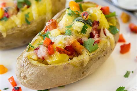 potato the of vegetables 30 potato recipes for comfort and hearty meals books baked veggie stuffed potato ms