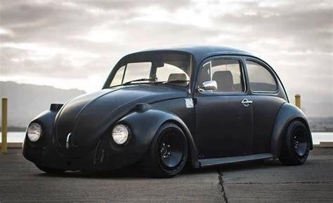black volkswagen bug matte black bug vw classics matte black