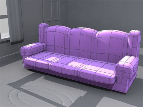 family guy couch old 3d design iceflowstudios design training