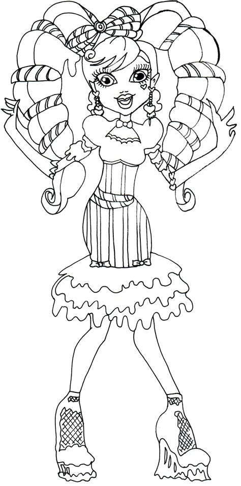 monster high new coloring pages free printable monster high coloring pages january 2014