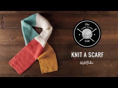 learn how to knit a scarf learn to knit kit learn to knit a scarf class