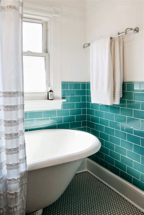 bathroom ideas pebble tile 12 x 12 turquoise studio m interiors house of turquoise