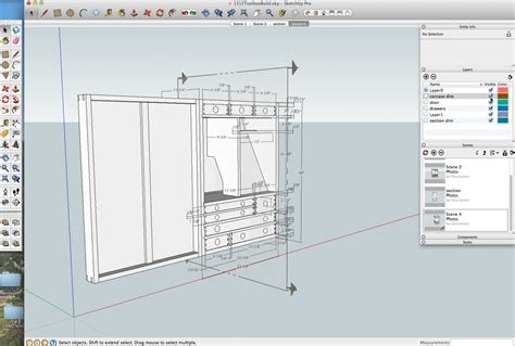 sketchup layout measurements details and dimensions from a sketchup model popular