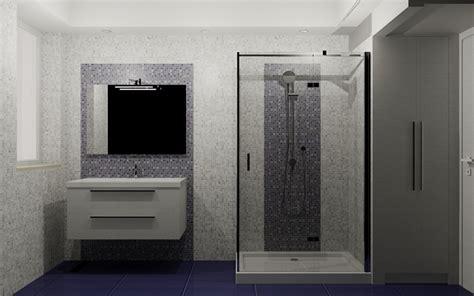 bagno mosaico bianco mosaico