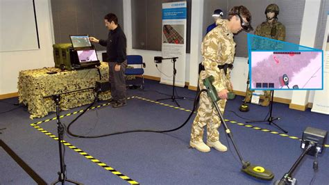 virtual reality vr handheld ied detector training system