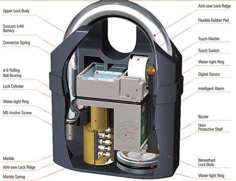 Kunci Gembok Cakram Ban Motor Gembok Alarm Padlock Getar Ring Pendek 3 aman dari maling dengan kunci gembok unik harga jual