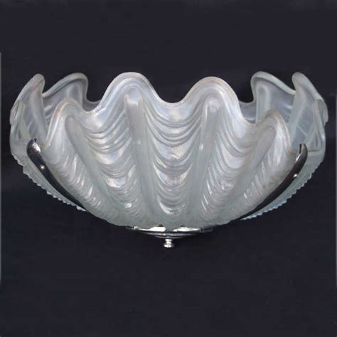 deco shell ceiling light