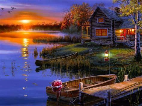boat house wallpaper lake house wallpaper wallpapersafari