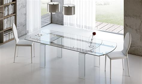 tavoli ovali in vetro tavoli allungabili riflessi archives consolle tavoli