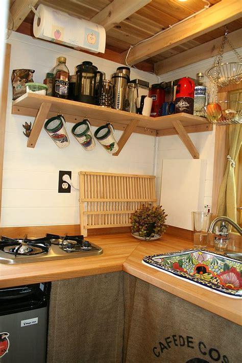 tiny house kitchen sink tiny house kitchen cozy cottages