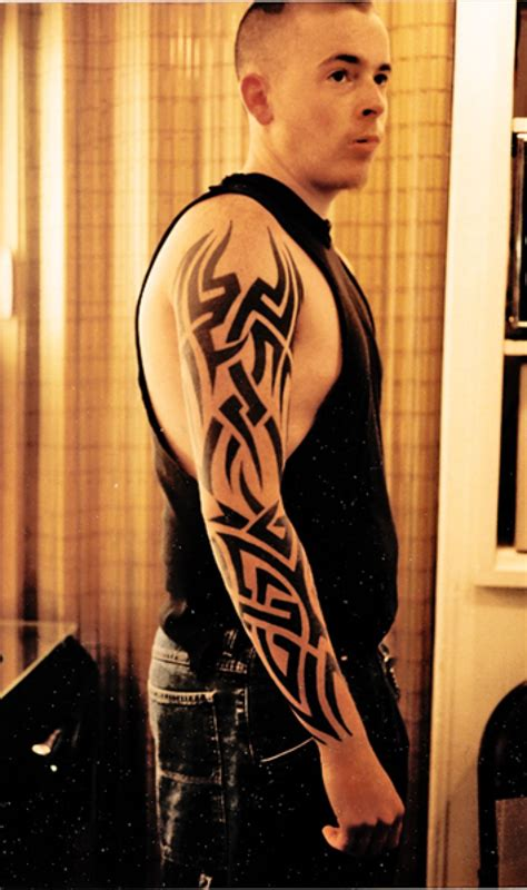 20 tribal sleeve tattoos design ideas for men and women