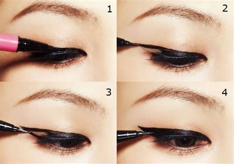 Eye Liner msromanticpunch or two different eyeliner look