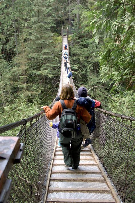 walking  suspension bridge