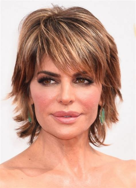 shag haircuts women over 50 chic short haircuts with side swept bangs popular long