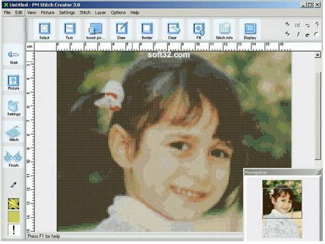 pattern maker deluxe editor pm stitch creator create or convert picture to cross