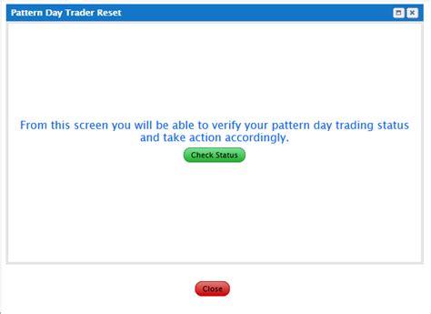 pattern day trader status verzoek indienen pdt blokkade van mijn rekening te verwijderen