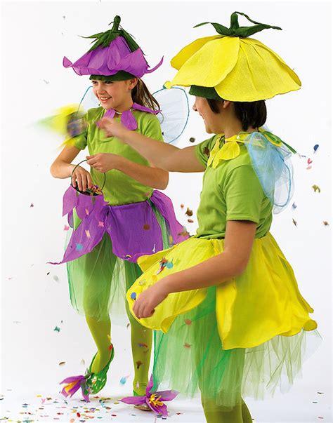 vestito da fiore costumi per carnevale fai da te bambine in fiore