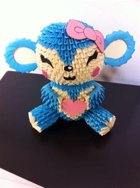 blue monkey 3 album shawn 3d origami