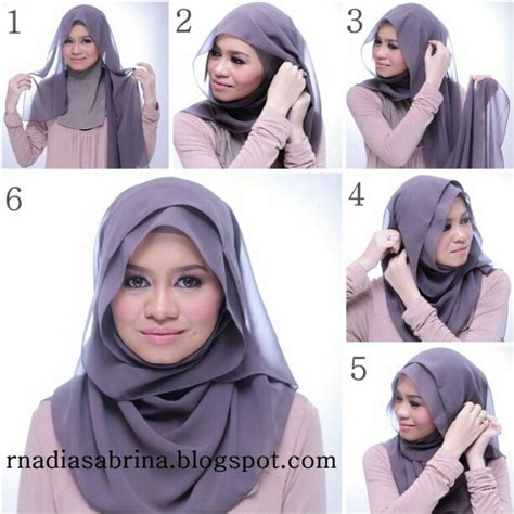 tutorial hijab paris elegant 135 best images about hijab shawl styles remember to