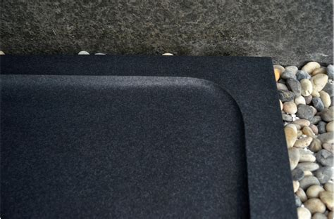 receveur de granit receveur de en spacium shadow granit noir v 233 ritable 140x90