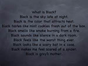 poems about the color black black color poem search engine at search