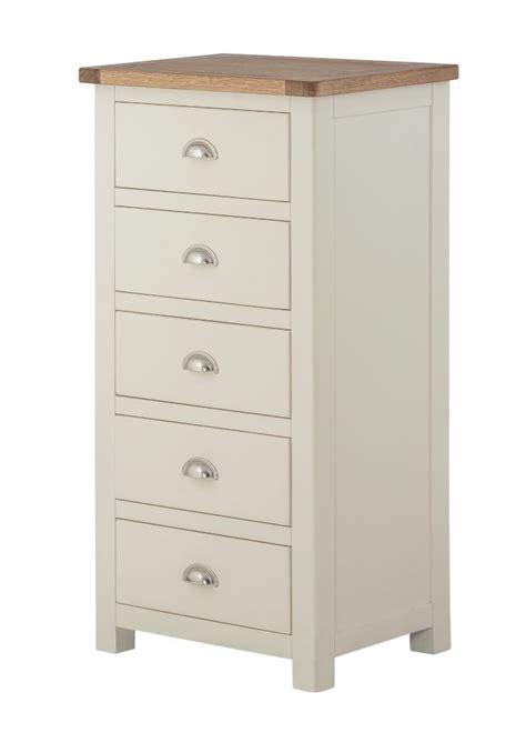 portland 5 drawer slim chest
