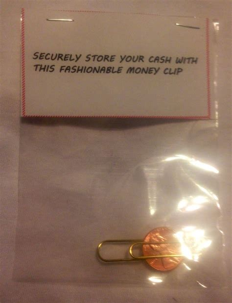 money clip great christmas gag gift for a gentlemen
