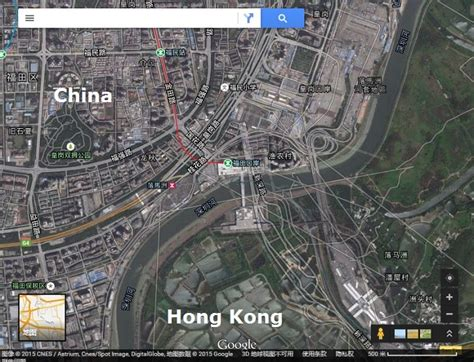 Chinese street maps out of alignment in Google Earth and ... Google Maps Satellite View 2015