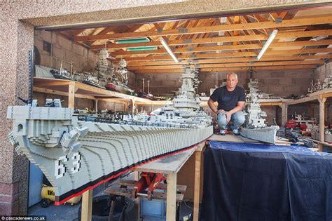 mark burnett guide dogs man building world s biggest lego model of uss missouri