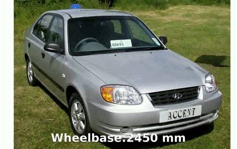 2004 hyundai accent features and specs youtube